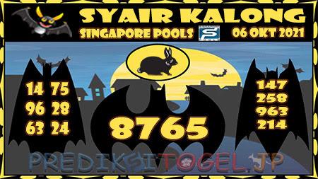 Kalong SGP Rabu 06 Oktober 2021