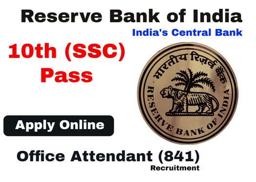 Reserve Bank of India Recruit Office Attendant