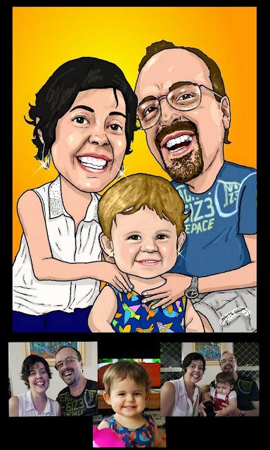 Arte do Desenhista Marcelo Lopes de Lopes