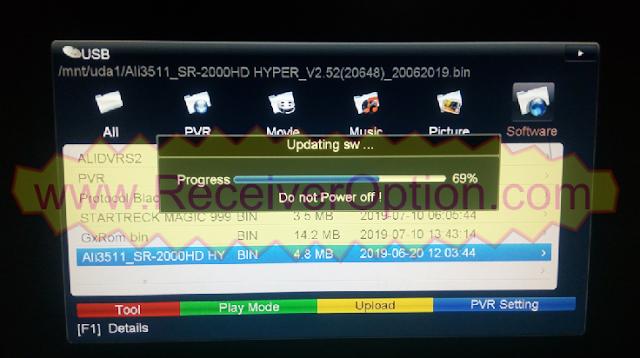 STAR SAT SR-2000 HD HYPER RECEIVER TEN SPORTS OK NEW SOFTWARE