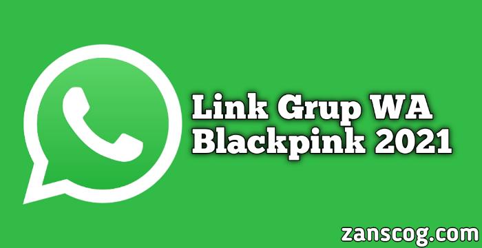 Link Grup WA Blackpink