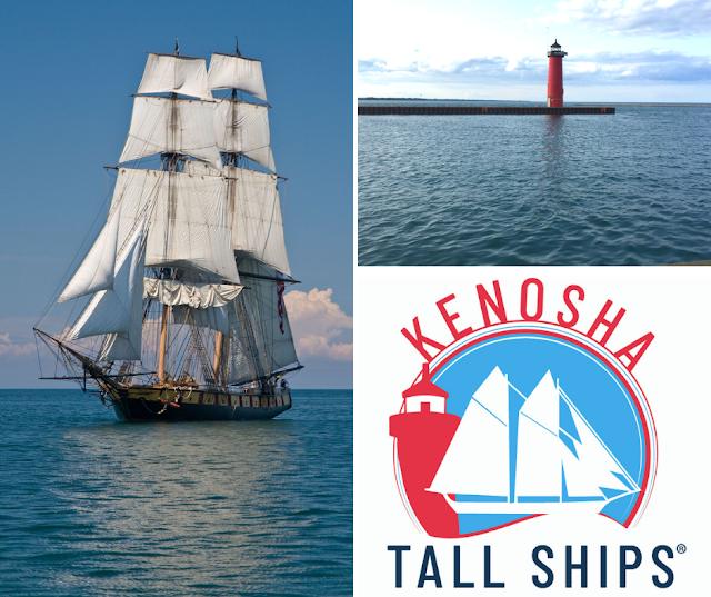 Tall Ships Are Sailing into Kenosha August 1-4, 2019