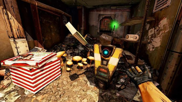 Borderlands 2 VR is a new version 2019 of the popular shooter, which was released in 2012 on PC. This time we are dealing with a conversion prepared for virtual reality glasses.