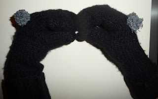 jak zrobić rękawiczki ze starego swetra