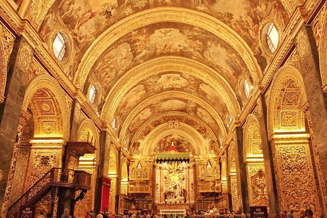 St John's Co-Cathedral Church Valletta Malta