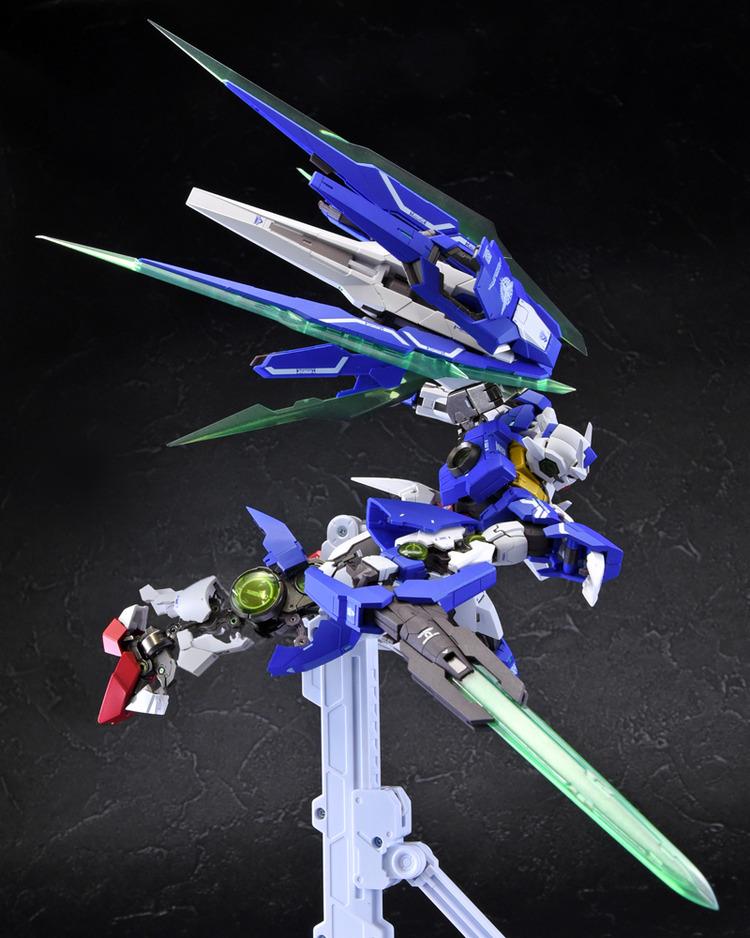 Metal Build 00 Qan[T] Sample Preview by Tamashii Robot - Gundam Kits Collection News and Reviews