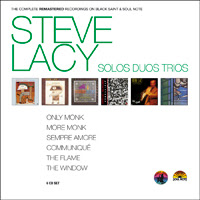 Steve Lacy: Solos Duos Trios. The Complete Remastered Recordings on Black Saint & Soul Note (Cam Jazz, 2011)