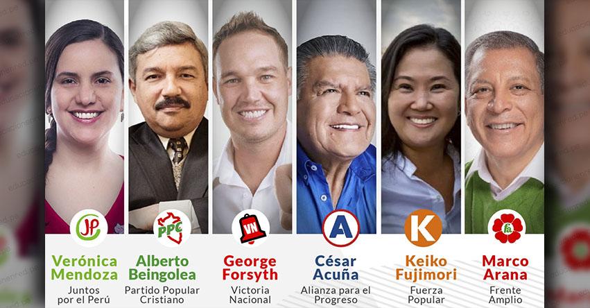 DEBATE PRESIDENCIAL 2021: Hoy se inicia el debate de candidatos presidenciales organizado por el Jurado Nacional de Elecciones - JNE [EN VIVO]
