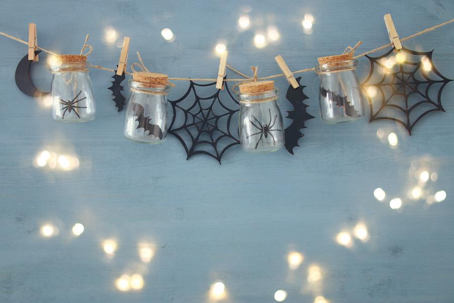 Guirnalda decorativa para halloween.