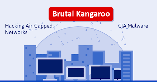 Brutal Kangaroo: CIA-developed Malware for Hacking Air-Gapped Networks Covertly