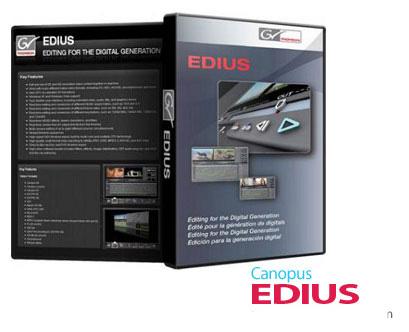 EDIUS Pro 7.5 Installation Instructions
