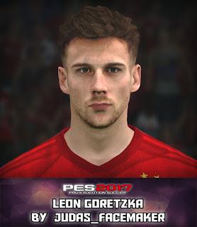PES 2017 Faces Leon Goretzka by Judas