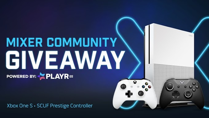 Sorteio de Um Xbox One S + Controle Scuf Prestige!