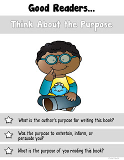 Good Readers Think About the Purpose