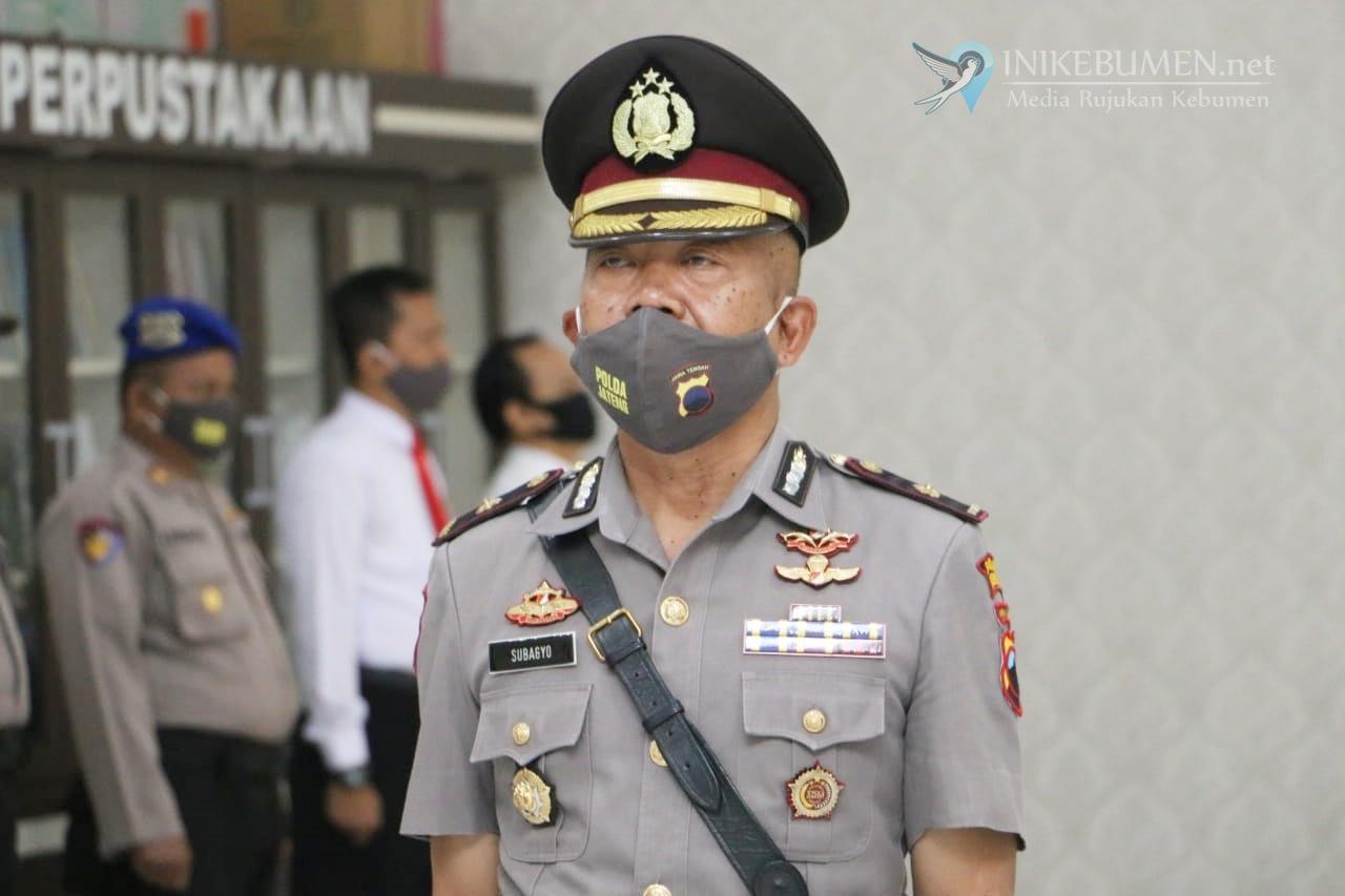 Prayudha Pindah ke Grobogan, Wakapolres Kebumen Dijabat Kompol Subagyo