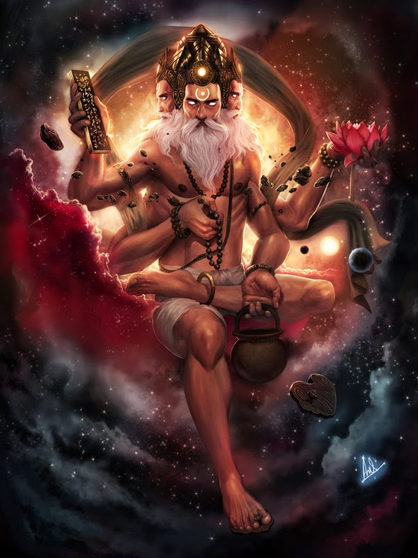 Lord Brahma - The Creator: How Brahma was born?