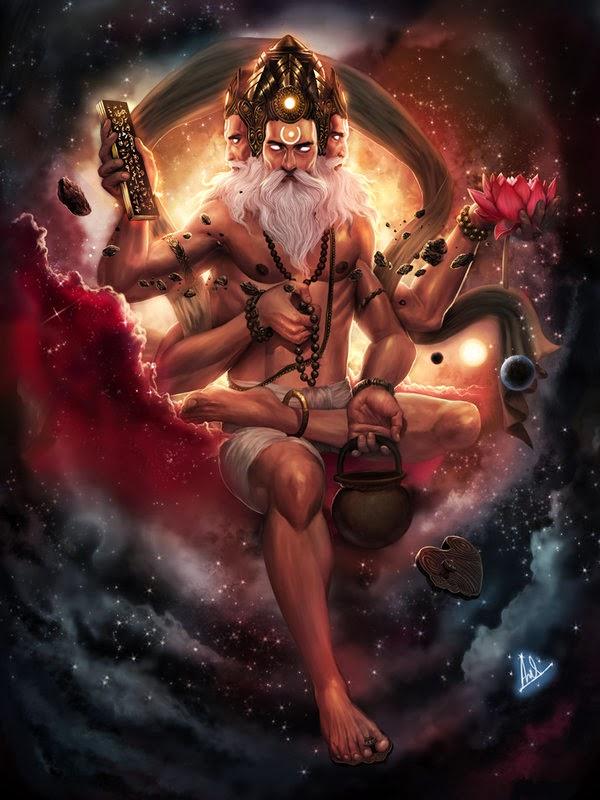 Lord Brahma - The Creator: How Brahma was born?
