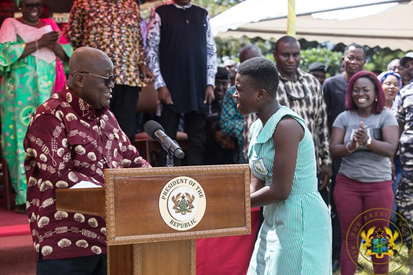 """No Regrets For Using Oil Revenues To Fund Free SHS"" – President Akufo-Addo"