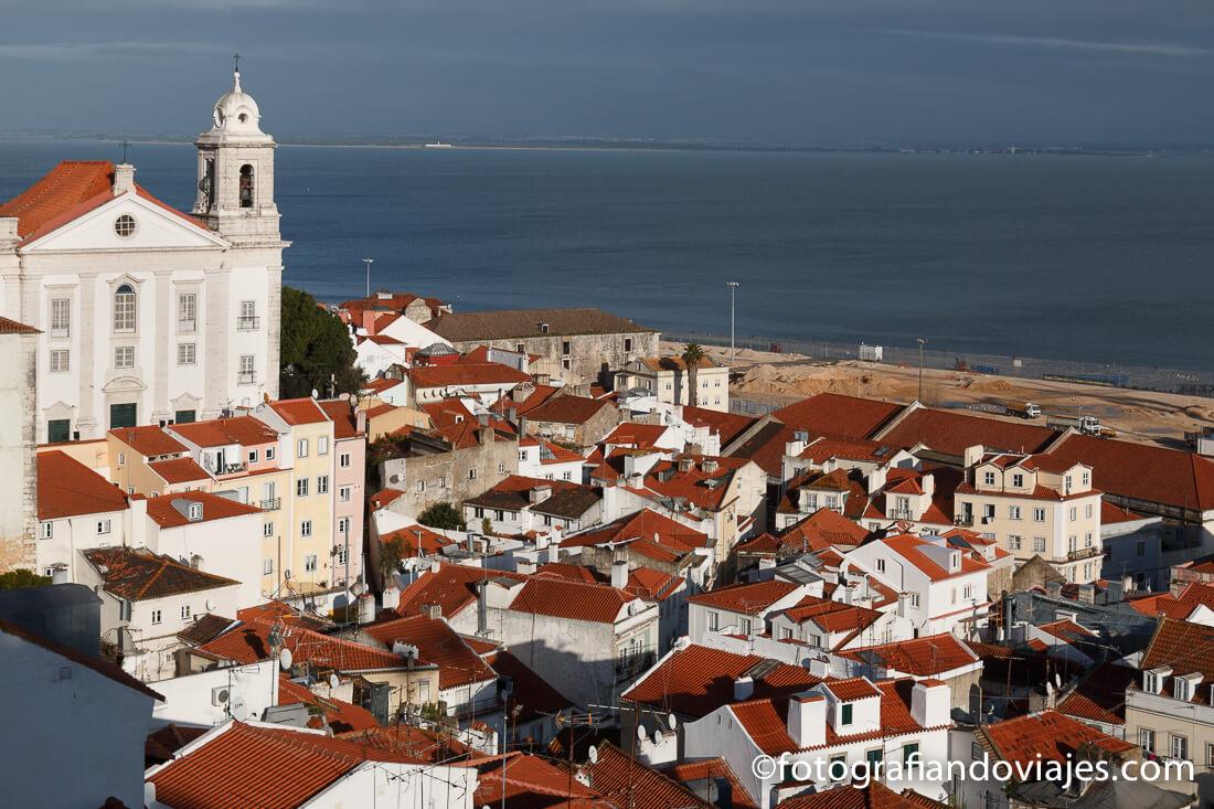 Mirador de Santa Luzia en Lisboa