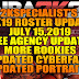 2KSPECIALIST'S 2K19 ROSTER UPDATE 7.15.19 FREE AGENCY UPDATES + MORE ROOKIES ADDED + PORTRAITS [FOR 2K19]