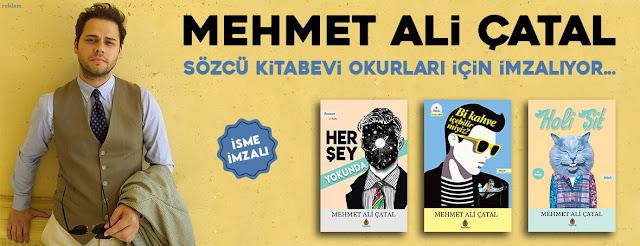 Yazar Mehmet Ali Çatal,Sözcü Kitabevi