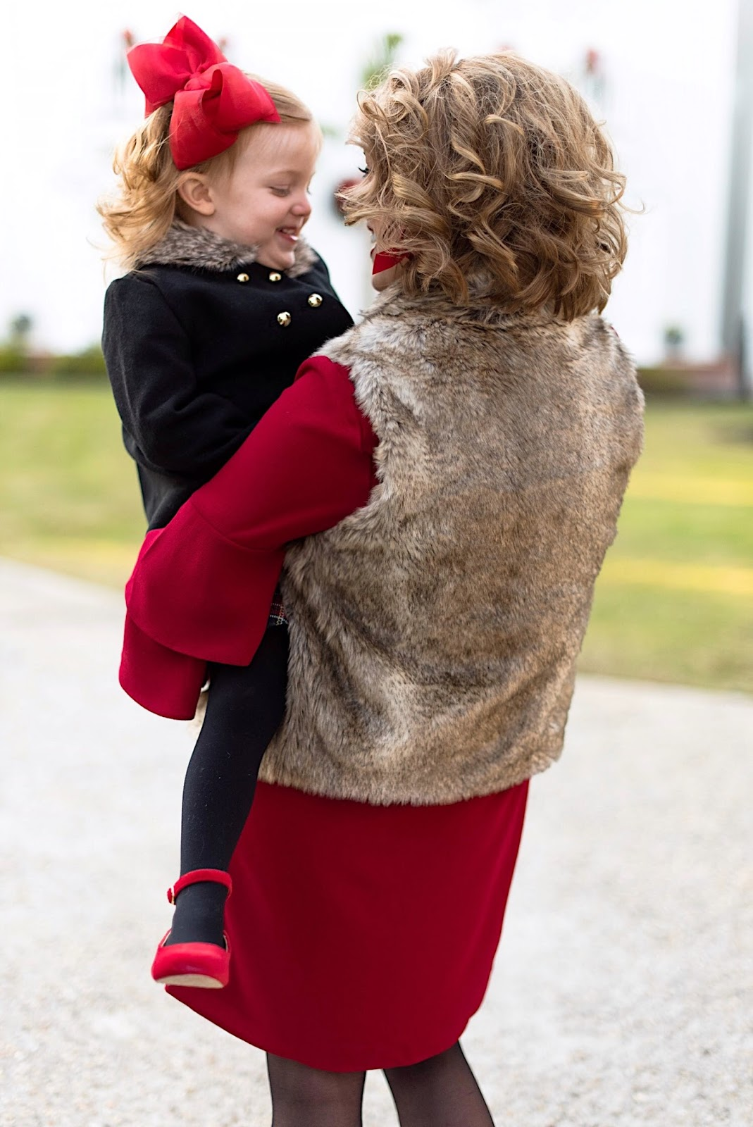 Something Delightful Blog - Mommy & Me Holiday Style