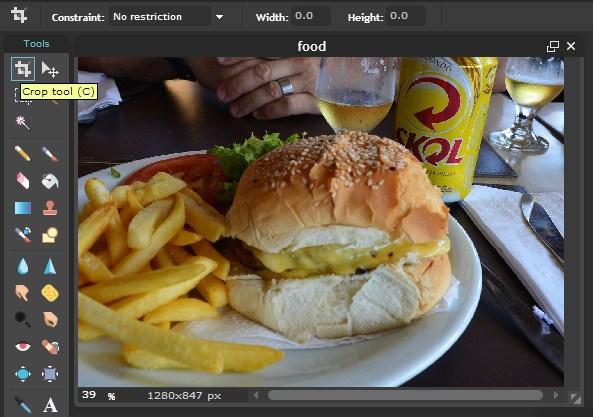 Edit Foto Makanan Online