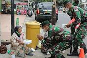 Blusukan Ke Pelosok Desa, Resimen Armed 2 Kostrad Berbagi Kepada Warga Malang