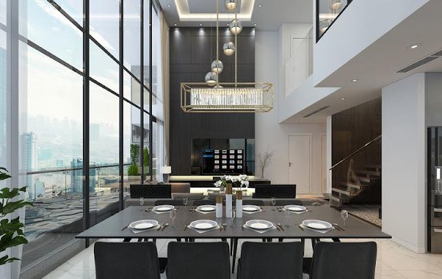 Thiết kế căn hộ DLC Complex