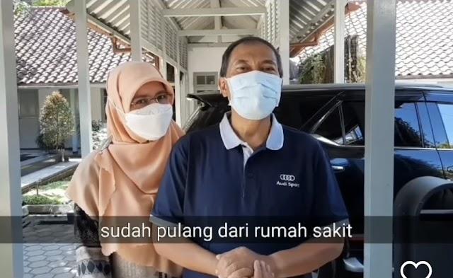Sudah Sehat,  Mang Oded Siap Kembali Menjalankan Tugas  Wali Kota Bandung