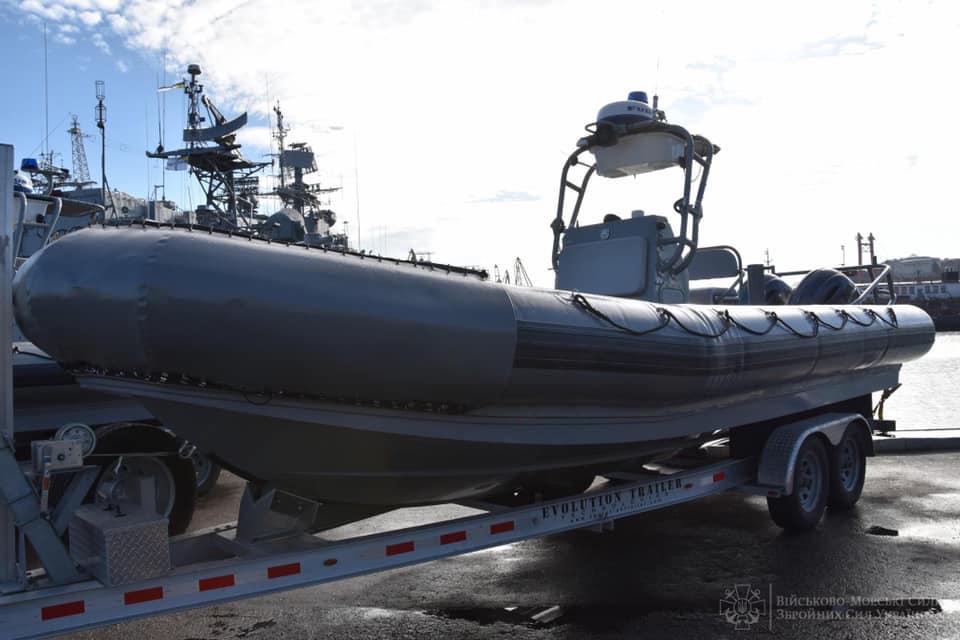 ВМСУ передали американські надувні човни
