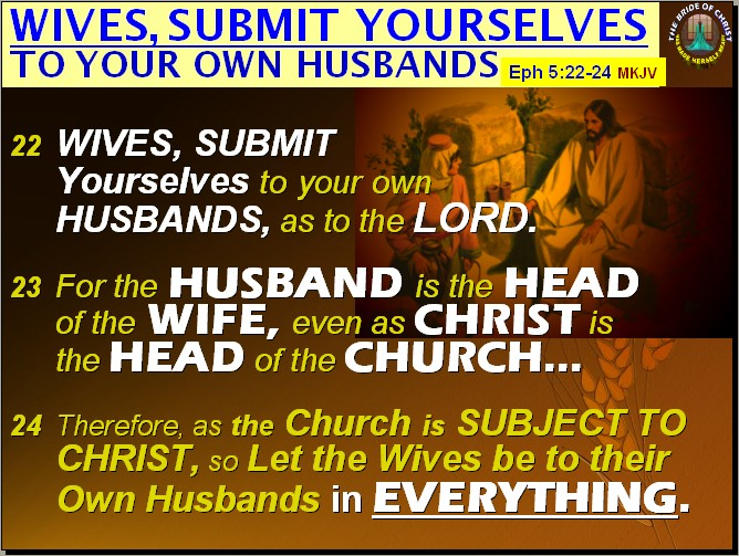 Wife obey husband bible