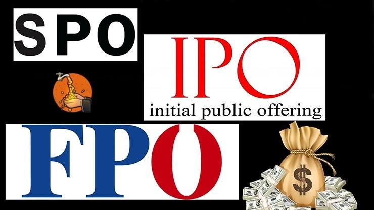 Разница между IPO FPO SPO в размещении акций