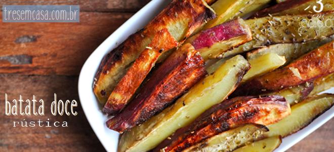 receita de batata doce ao forno