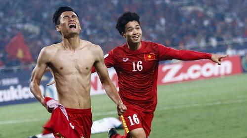 Minh Tuấn từng đoạt giải quả bóng đồng của Bóng đá Việt Nam