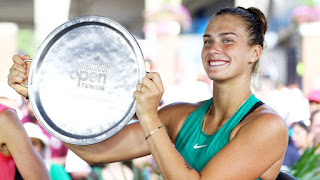 Sabalenka wins maiden title in Connecticut