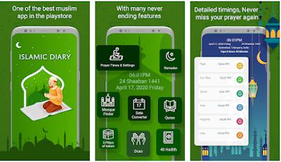 Islamic Diary app