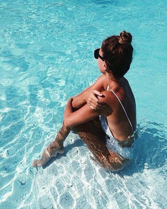 40 Fotos tumblr en la piscina que deberías imitar