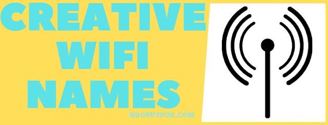 creative wifi names list