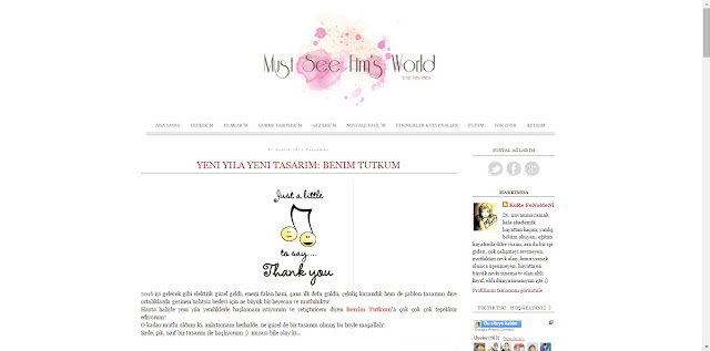 Blog Şablon Tasarım Teslimi #4