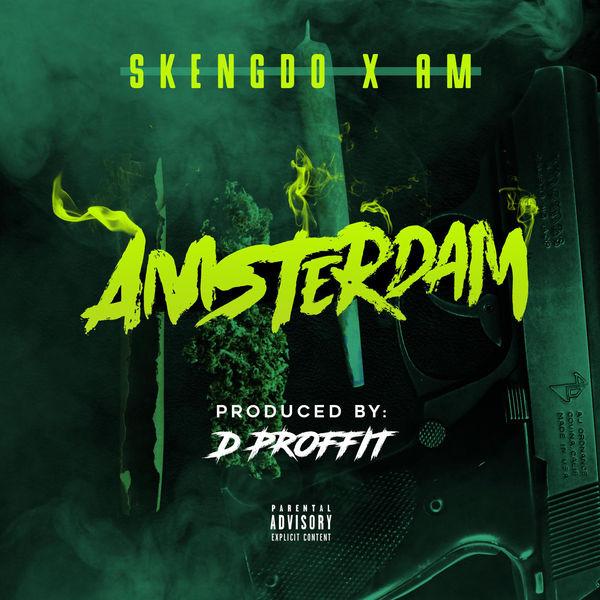 Skengdo & A!M - Amsterdam - Single Cover