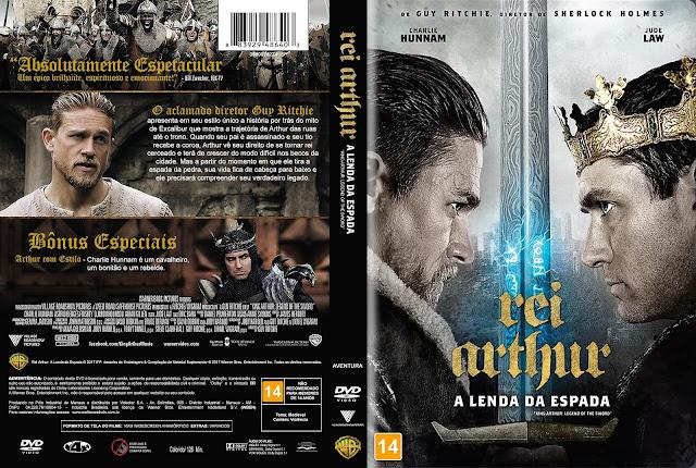 Capa DVD Rei Arthur A Lenda da Espada [Exclusiva]