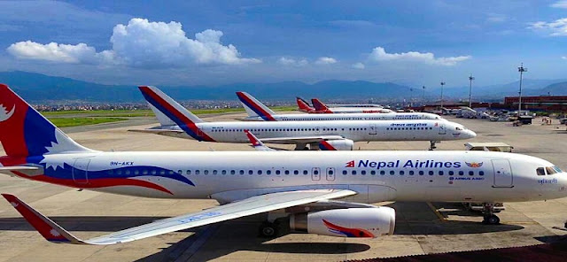 Kathmandu Nepal -flight