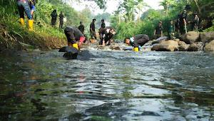 Sub 07-22, Bersihnya Sungai Cibeureum Cocok Dijadikan Wisata Air Arung Sungai