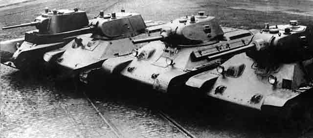 Soviet T-34 tank prototypes, 1941 worldwartwo.filminspector.com