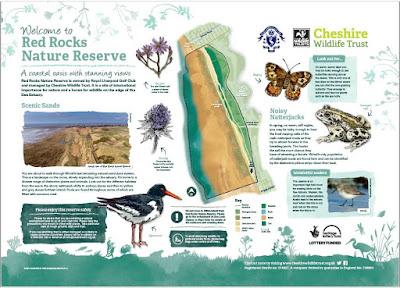 Red Rocks Nature Reserve Red Rocks Nature Reserve information board