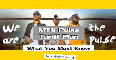 MTN Pulse Tariff Plan