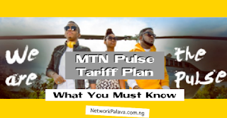 MTN Pulse Tariff Plan code