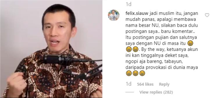 Ustadz Felix Siauw Ajak Ngopi Bareng Hatersnya