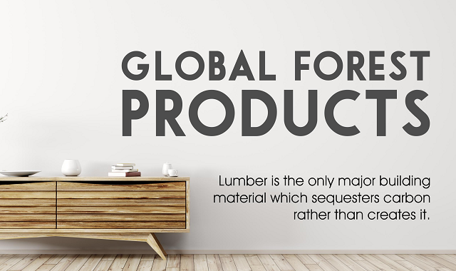 The most widely used global forest product